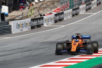 World © Octane Photographic Ltd. Formula 1 – Austrian GP - Race. McLaren MCL34 – Carlos Sainz. Red Bull Ring, Spielberg, Styria, Austria. Sunday 30th June 2019