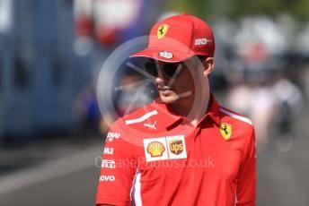 World © Octane Photographic Ltd. Formula 1 – Austrian GP - Paddock. Scuderia Ferrari SF90 – Charles Leclerc. Red Bull Ring, Spielberg, Styria, Austria. Sunday 30th June 2019