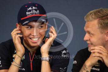 World © Octane Photographic Ltd. Formula 1 – Austrian GP - Paddock. FIA Drivers Press Conference. Scuderia Toro Rosso STR14 – Alexander Albon. Red Bull Ring, Spielberg, Styria, Austria. Thursday 27th June 2019.