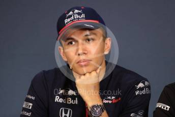 World © Octane Photographic Ltd. Formula 1 – Austrian GP - Paddock. FIA Drivers Press Conference. Scuderia Toro Rosso STR14 – Alexander Albon. Red Bull Ring, Spielberg, Styria, Austria. Thursday 27th June 2019.