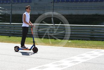 World © Octane Photographic Ltd. Formula 1 – Austrian GP - Track Walk. McLaren MCL34 – Lando Norris. Red Bull Ring, Spielberg, Styria, Austria. Thursday 27th June 2019.