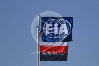 World © Octane Photographic Ltd. Formula 1 – Austrian GP - Pit Lane. FIA Flag. Red Bull Ring, Spielberg, Styria, Austria. Thursday 27th June 2019.