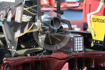 World © Octane Photographic Ltd. Formula 1 – Austrian GP - Paddock. Renault Sport F1 Team RS19. Red Bull Ring, Spielberg, Styria, Austria. Thursday 27th June 2019.