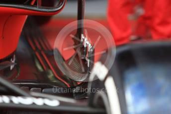 World © Octane Photographic Ltd. Formula 1 – Austrian GP - Paddock. Scuderia Ferrari SF90. Red Bull Ring, Spielberg, Styria, Austria. Thursday 27th June 2019.