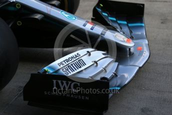 World © Octane Photographic Ltd. Formula 1 – Austrian GP - Paddock. Mercedes AMG Petronas Motorsport AMG F1 W10 EQ Power+. Red Bull Ring, Spielberg, Styria, Austria. Thursday 27th June 2019.