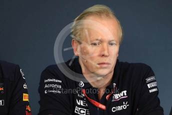 World © Octane Photographic Ltd. Formula 1 - Austrian GP – Friday FIA Team Press Conference. Andrew (Andy) Green - Technical Director at SportPesa Racing Point. Red Bull Ring, Spielberg, Styria, Austria. Thursday 27th June 2019.