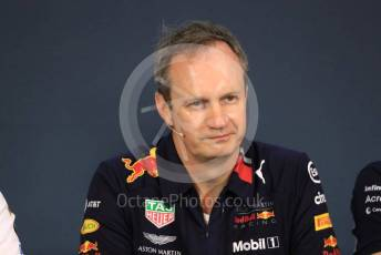 World © Octane Photographic Ltd. Formula 1 - Austrian GP – Friday FIA Team Press Conference. Paul Monaghan - Chief Engineer of Red Bull Racing. Red Bull Ring, Spielberg, Styria, Austria. Thursday 27th June 2019.