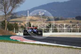 World © Octane Photographic Ltd. Formula 1 – Winter Testing - Test 1 - Day 1. Alfa Romeo Racing C38 – Kimi Raikkonen. Circuit de Barcelona-Catalunya. Monday 18th February 2019.