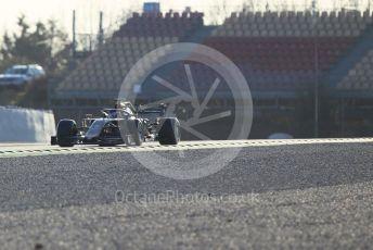 World © Octane Photographic Ltd. Formula 1 – Winter Testing - Test 1 - Day 1. Rich Energy Haas F1 Team VF19 – Romain Grosjean. Circuit de Barcelona-Catalunya. Monday 18th February 2019.