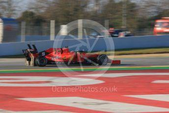 World © Octane Photographic Ltd. Formula 1 – Winter Testing - Test 1 - Day 1. Scuderia Ferrari SF90 – Sebastian Vettel. Circuit de Barcelona-Catalunya. Monday 18th February 2019.