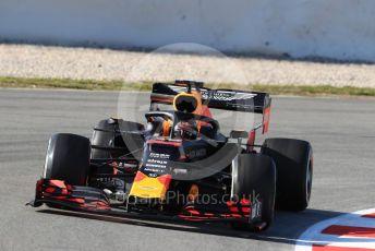World © Octane Photographic Ltd. Formula 1 – Winter Testing - Test 1 - Day 1. Aston Martin Red Bull Racing RB15 – Max Verstappen. Circuit de Barcelona-Catalunya. Monday 18th February 2019.
