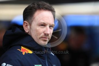World © Octane Photographic Ltd. Formula 1 - Winter Testing - Test 1 - Day 2. Christian Horner - Team Principal of Red Bull Racing. Circuit de Barcelona-Catalunya. Tuesday 19th February 2019