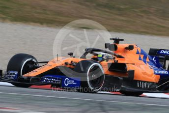 World © Octane Photographic Ltd. Formula 1 – Winter Testing - Test 1 - Day 2. McLaren MCL34 – Lando Norris. Circuit de Barcelona-Catalunya. Tuesday 19th February 2019.