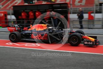 World © Octane Photographic Ltd. Formula 1 – Winter Testing - Test 1 - Day 3. Aston Martin Red Bull Racing RB15 – Max Verstappen. Circuit de Barcelona-Catalunya. Wednesday 20th February 2019