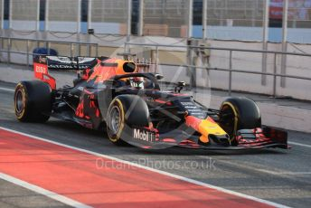 World © Octane Photographic Ltd. Formula 1 – Winter Testing - Test 1 - Day 4. Aston Martin Red Bull Racing RB15 – Pierre Gasly. Circuit de Barcelona-Catalunya. Thursday 21st February 2019.