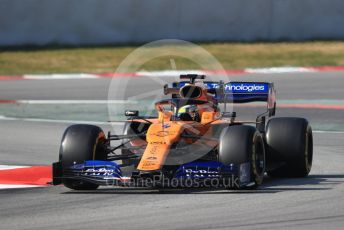 World © Octane Photographic Ltd. Formula 1 – Winter Testing - Test 1 - Day 4. McLaren MCL34 – Lando Norris. Circuit de Barcelona-Catalunya. Thursday 21st February 2019.