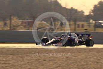 World © Octane Photographic Ltd. Formula 1 – Winter Testing - Test 1 - Day 4. Scuderia Toro Rosso STR14 – Alexander Albon. Circuit de Barcelona-Catalunya. Thursday 21st February 2019.