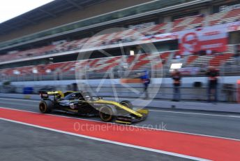 World © Octane Photographic Ltd. Formula 1 – Winter Testing - Test 1 - Day 4. Renault Sport F1 Team RS19 – Daniel Ricciardo. Circuit de Barcelona-Catalunya. Thursday 21st February 2019.
