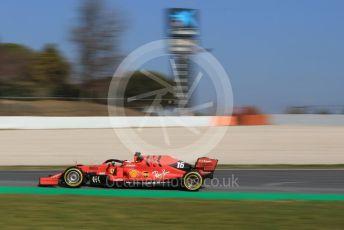 World © Octane Photographic Ltd. Formula 1 – Winter Testing - Test 1 - Day 4. Scuderia Ferrari SF90 – Charles Leclerc. Circuit de Barcelona-Catalunya. Thursday 21st February 2019.