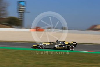World © Octane Photographic Ltd. Formula 1 – Winter Testing - Test 1 - Day 4. Renault Sport F1 Team RS19 – Nico Hulkenberg. Circuit de Barcelona-Catalunya. Thursday 21st February 2019.