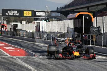 World © Octane Photographic Ltd. Formula 1 – Winter Testing - Test 2 - Day 1. Aston Martin Red Bull Racing RB15 – Pierre Gasly. Circuit de Barcelona-Catalunya. Tuesday 26th February 2019.