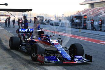 World © Octane Photographic Ltd. Formula 1 – Winter Testing - Test 2 - Day 2. Scuderia Toro Rosso STR14 – Daniil Kvyat. Circuit de Barcelona-Catalunya. Wednesday 27th February 2019.