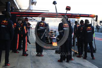 World © Octane Photographic Ltd. Formula 1 – Winter Testing - Test 2 - Day 2. Aston Martin Red Bull Racing RB15 – Max Verstappen. Circuit de Barcelona-Catalunya. Wednesday 27th February 2019.