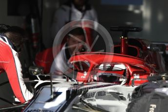 World © Octane Photographic Ltd. Formula 1 – Winter Testing - Test 2 - Day 2. Alfa Romeo Racing C38 – Kimi Raikkonen. Circuit de Barcelona-Catalunya. Wednesday 27th February 2019.
