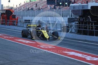 World © Octane Photographic Ltd. Formula 1 – Winter Testing - Test 2 - Day 2. Renault Sport F1 Team RS19 – Daniel Ricciardo. Circuit de Barcelona-Catalunya. Wednesday 27th February 2019.
