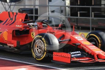 World © Octane Photographic Ltd. Formula 1 – Winter Testing - Test 2 - Day 2. Scuderia Ferrari SF90 – Sebastian Vettel. Circuit de Barcelona-Catalunya. Wednesday 27th February 2019.