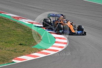World © Octane Photographic Ltd. Formula 1 – Winter Testing - Test 2 - Day 2. McLaren MCL34 – Carlos Sainz. Circuit de Barcelona-Catalunya. Wednesday 27th February 2019.