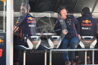 World © Octane Photographic Ltd. Formula 1 - Winter Testing - Test 2 - Day 2. Christian Horner - Team Principal of Red Bull Racing. Circuit de Barcelona-Catalunya. Wednesday 27th February 2019