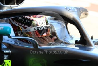 World © Octane Photographic Ltd. Formula 1 – Winter Testing - Test 2 - Day 2. Mercedes AMG Petronas Motorsport AMG F1 W10 EQ Power+ - Lewis Hamilton. Circuit de Barcelona-Catalunya. Wednesday 27th February 2019.