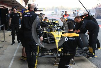 World © Octane Photographic Ltd. Formula 1 – Winter Testing - Test 2 - Day 3. Renault Sport F1 Team RS19 – Nico Hulkenberg. Circuit de Barcelona-Catalunya. Thursday 28th February 2019.
