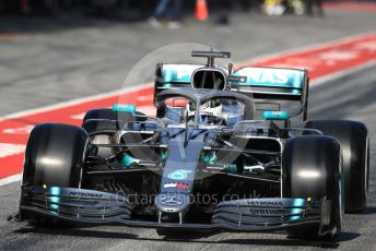 World © Octane Photographic Ltd. Formula 1 – Winter Testing - Test 2 - Day 3. Mercedes AMG Petronas Motorsport AMG F1 W10 EQ Power+ - Valtteri Bottas. Circuit de Barcelona-Catalunya. Thursday 28th February 2019.
