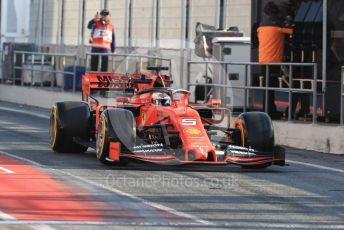 World © Octane Photographic Ltd. Formula 1 – Winter Testing - Test 2 - Day 4. Scuderia Ferrari SF90 – Sebastian Vettel. Circuit de Barcelona-Catalunya. Friday 1st March 2019.