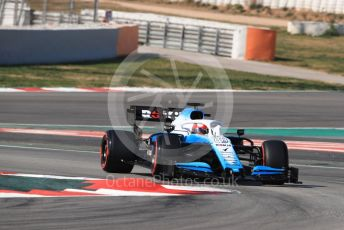 World © Octane Photographic Ltd. Formula 1 – Winter Testing - Test 2 - Day 4. ROKiT Williams Racing – Robert Kubica. Circuit de Barcelona-Catalunya. Friday 1st March 2019.