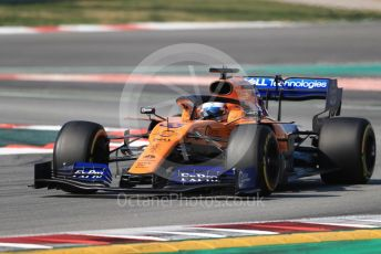 World © Octane Photographic Ltd. Formula 1 – Winter Testing - Test 2 - Day 4. McLaren MCL34 – Carlos Sainz. Circuit de Barcelona-Catalunya. Friday 1st March 2019.
