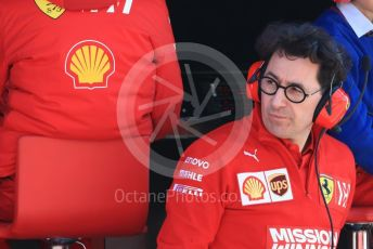 World © Octane Photographic Ltd. Formula 1 - Winter Testing - Test 2 - Day 3. Mattia Binotto – Team Principal of Scuderia Ferrari. Circuit de Barcelona-Catalunya. Friday 1st March 2019