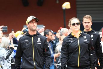 World © Octane Photographic Ltd. Formula 1 – Belgium GP - Drivers Parade. Renault Sport F1 Team RS19 – Daniel Ricciardo. Circuit de Spa Francorchamps, Belgium. Sunday 1st September 2019.