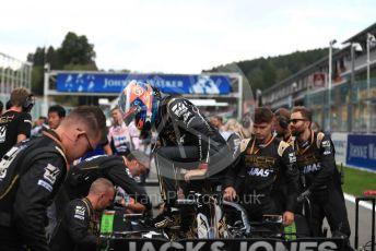 World © Octane Photographic Ltd. Formula 1 – Belgium GP - Grid. Renault Sport F1 Team RS19 – Daniel Ricciardo. Circuit de Spa Francorchamps, Belgium. Sunday 1st September 2019.