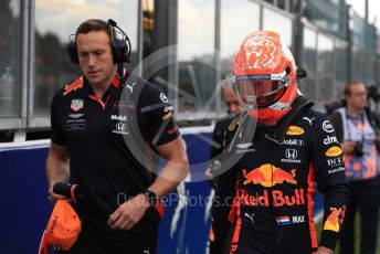 World © Octane Photographic Ltd. Formula 1 – Belgium GP - Grid. Aston Martin Red Bull Racing RB15 – Max Verstappen. Circuit de Spa Francorchamps, Belgium. Sunday 1st September 2019.