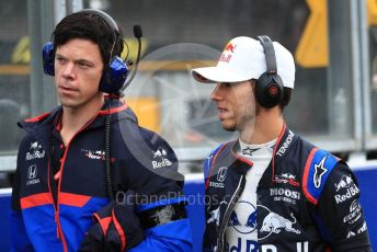 World © Octane Photographic Ltd. Formula 1 – Belgium GP - Grid. Scuderia Toro Rosso - Pierre Gasly. Circuit de Spa Francorchamps, Belgium. Sunday 1st September 2019.
