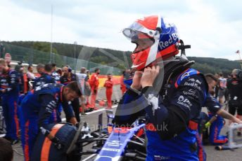 World © Octane Photographic Ltd. Formula 1 – Belgium GP - Grid. Scuderia Toro Rosso STR14 – Daniil Kvyat. Circuit de Spa Francorchamps, Belgium. Sunday 1st September 2019.