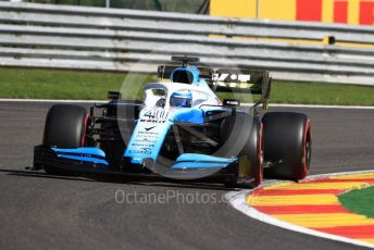 World © Octane Photographic Ltd. Formula 1 – Belgium GP - Practice 1. ROKiT Williams Racing FW 42 - Nicholas Latifi. Circuit de Spa Francorchamps, Belgium. Friday 30th August 2019.