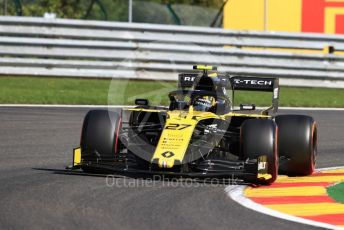 World © Octane Photographic Ltd. Formula 1 – Belgium GP - Practice 1. Renault Sport F1 Team RS19 – Nico Hulkenberg. Circuit de Spa Francorchamps, Belgium. Friday 30th August 2019.