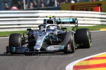 World © Octane Photographic Ltd. Formula 1 – Belgium GP - Practice 1. Mercedes AMG Petronas Motorsport AMG F1 W10 EQ Power+ - Valtteri Bottas. Circuit de Spa Francorchamps, Belgium. Friday 30th August 2019