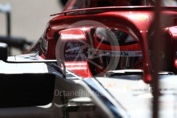 World © Octane Photographic Ltd. Formula 1 – Belgium GP - Practice 3. Alfa Romeo Racing C38 – Kimi Raikkonen. Circuit de Spa Francorchamps, Belgium. Saturday 31st August 2019.