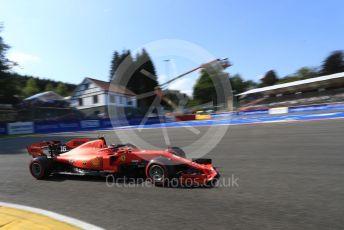 World © Octane Photographic Ltd. Formula 1 – Belgium GP - Qualifying. Scuderia Ferrari SF90 – Charles Leclerc. Circuit de Spa Francorchamps, Belgium. Saturday 31st August 2019.