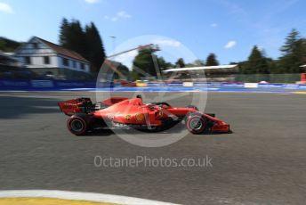 World © Octane Photographic Ltd. Formula 1 – Belgium GP - Qualifying. Scuderia Ferrari SF90 – Sebastian Vettel. Circuit de Spa Francorchamps, Belgium. Saturday 31st August 2019.